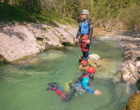 Canyoning Halbtagestour Lenggries Voralpen - ca. 4 Stunden