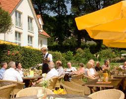 gourmetwochenende-Terrasse