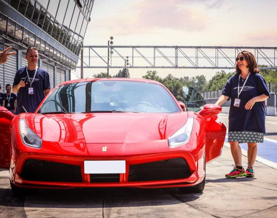 Ferrari 488 GTB selber fahren - 2 Runden Monza Ferrari 488 GTB - 2 Runden - Monza