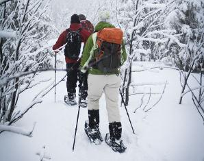 Schneeschuhwochenende - 2 Tage Schneeschuhwanderung inkl. Übernachtung - 2 Tage