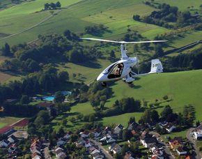 Foto-Rundflug in einem Tragschrauber - 60 Minuten - Vermarktung als Fototour Foto-Rundflug in einem geschlossenen Tragschrauber, ca. 1 Stunde