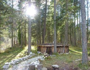 Wildnis-Wochenende   Brandenberg Kräuterkunde, Bau einer Schutzhütte, Survivaltechniken