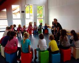 Trommel Workshop für Kinder für Kinder zwischen 4-9 Jahren