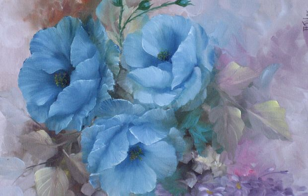 gary-jenkins-malkurs-bottmersdorf-blue-blumen-malen
