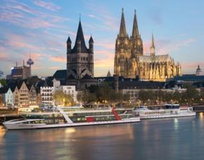 Dinner-Schifffahrt Köln Dinner-Schifffahrt - inkl. Abendessen