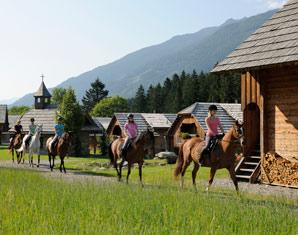 Aktivurlaub (Wander-Ausritt) Landgut Moserhof - Ausritt oder Schnupperreitprogramm, Gästekarte