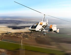 Tragschrauber selber fliegen - 60 Minuten geschlossen - Würselen 60 Minuten