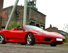 Ferrari F360 Spider selber fahren (30 min) - Memmelsdorf Ferrari F 360 Spider - 30 Minuten