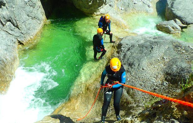 canyoning-fischbach-golling-an-der-salzach-team