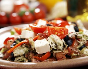 Mediterrane Küche 3-Gänge-Menü, inkl. Getränke