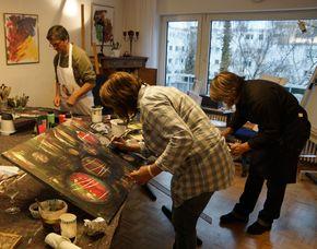 Mal-Workshop Wochenendkurs Nauheim Wochenendkurs