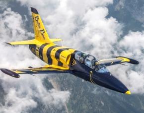 L-39 Jetflug in den Schweizer Alpen 90 Minuten