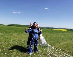 Fallschirm-Tandemsprung Boxberg