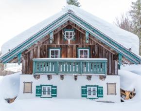 Romantische Hüttenübernachtung mit Fondu im Thalgau 1 ÜN, 2 Person Forsthaus Wartenfels - inkl. Frühstück