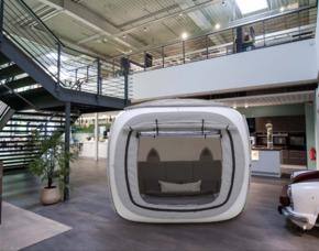 Außergewöhnlich Übernachten im sleeperoo Cube - 1 ÜN (Preis B - Fr/So) - Bad Homburg im sleeperoo Cube - inklusive Chillbox - im Möbelhaus