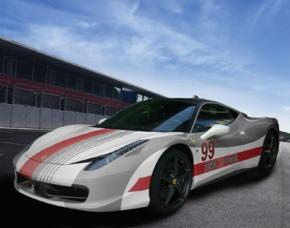 Renntaxi - Ferrari 458 - 4 Runden Ferrari 458 - 4 Runden auf dem Lausitzring