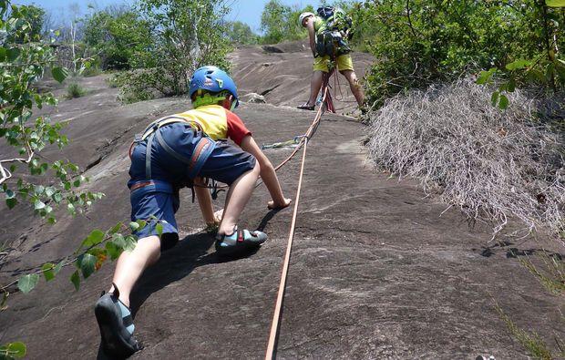 canyoning-tour-blaichach-klettertour