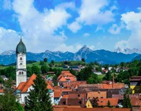 Städtetrip Füssen mit ganztägiger Königsschlössertour für 2 (2 Tage) 4**** Hotel Sonne - Inkl. Frühstück