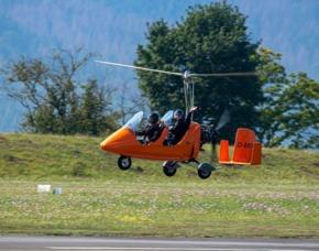 Tragschrauber selber fliegen Höxter 120 Minuten - 60 Minuten Flugzeit
