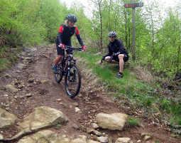 Mountainbike Grundkurs Viechtach 6-7 Stunden mit Mountainbiketour