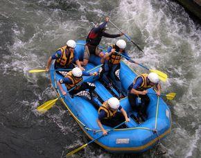 Rafting - Eiskanal - ca. 2,5 Stunden Eiskanal - ca. 2,5 Stunden