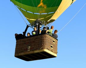 Ballonfahren   Düsseldorf 60 - 90 Minuten