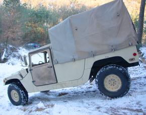 Hummer H1 offroad fahren - 60 Minuten Hummer H1 - 60 Minuten