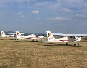 Flugzeug-Rundflug Mainz-Finthen