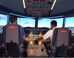 Flugsimulator - Airbus A380 - 90 Minuten Airbus A380 - 90 Minuten