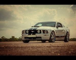 Ford Mustang GT selber fahren - 24 Stunden 24 Stunden