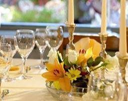 Candle-Light-Dinner für Zwei 3-Gänge-Menü, inkl. Aperitif