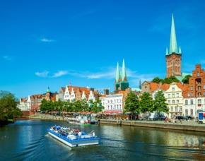 Städtetrip Lübeck mit Bootsfahrt für 2 (2 Tage) 2** Hotel Ibis Lübeck City - inkl. Bootsfahrt