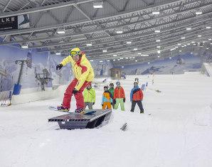 Snowboard-Kurs - Fortgeschrittenenkurs Fortgeschrittenenkurs - ca. 5 Stunden