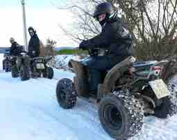 Quad-Winter-Tour Winter-Tour - 2 Stunden