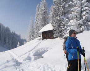 Schneeschuhwanderung (2 Tage Frasdorf) - 2 Gänge 2 Tages-Touren inkl. Übernachtung, 2 Gänge Menü