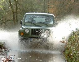 Jeep Adventure Großalmerode Geländewagen (Lada oder Suzuki) - 6 Stunden