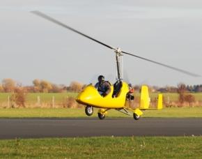 Tragschrauber selber fliegen - 30 Minuten - Schwandorf 30 Minuten