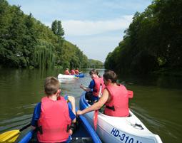 Kanu-Tour - Heilbronn Neckar, bis zu 3 Personen - ca. 4,5 Stunden