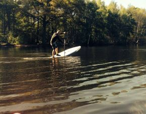 Stand up paddling in Duisburg ca. 2 Stunden