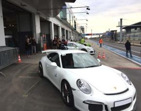 Fahrspaß in Nürburg