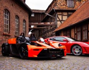 KTM X-Bow fahren Goslar