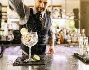 Gin-Tasting - pyc cheesecake & gallery - Düsseldorf von 10 Sorten Gin & Tonic Water