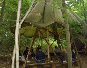 Survival Wochenende - 1 Übernachtung Erste Hilfe, Feuermachen, Knotenkunde, Bogenschießen