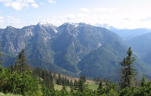 rafting-wochenende-schneizlreuth-bergaussicht
