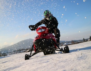 Snowmobil fahren Inzell