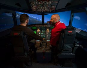 3D-Flugsimulator Berlin