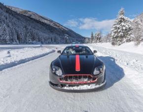 Aston Martin Vantage Winter-Training - Raum Lungau - Katschberg Wintertraining - 7 Stunden