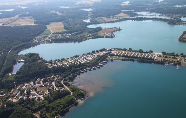 flugzeug-rundflug-weiden-oberpfalz-see