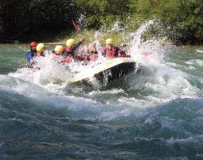 Rafting/Abenteuer Wochenende - 1 Übernachtung im Doppelzimmer - Mayrhofen inkl. Canyoning-Tour & Verpflegung