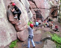 Outdoor Kletterkurs Pfälzer Buntsandstein - ca. 6 Stunden